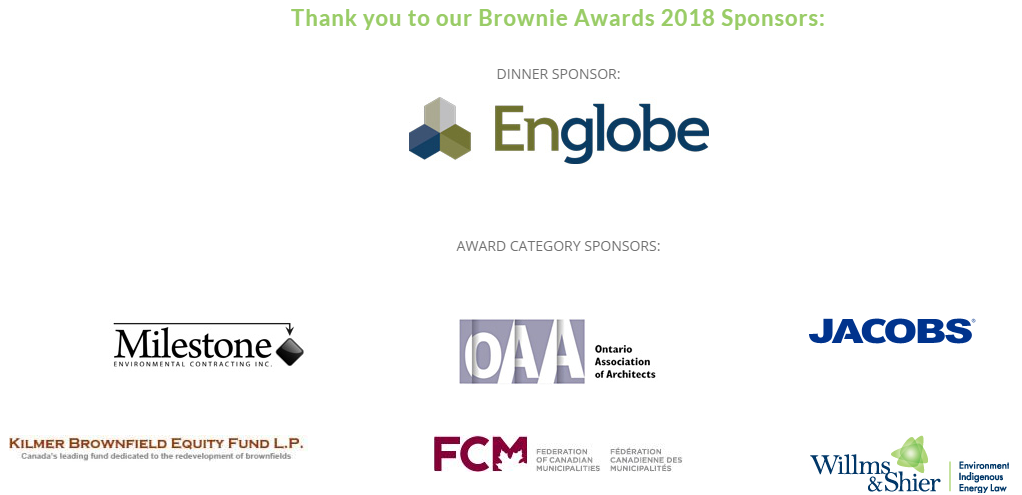 2018 Brownie Award Sponsors